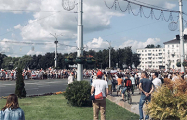 Марш за Свободу в Витебске: фоторепортаж