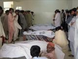 В Пакистане автобус упал с обрыва