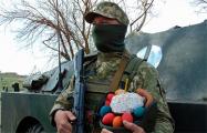 Фотофакт: Украинские военные на Донбассе отметили Пасху