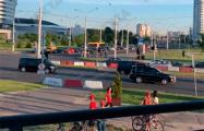 Видеофакт: В Минске водители снова засигналили кортеж «Саши 3%»