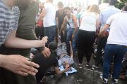 В результате взрыва на митинге в Турции более 100 человек получили ранения