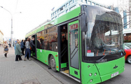 В Витебске проследят, чтобы в городском транспорте не было российских флажков