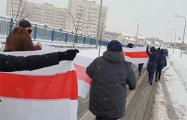 Жители Лебяжьего на марше выдвинули ультиматум диктатору