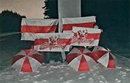 Жители Борисова вышли на вечернюю акцию солидарности