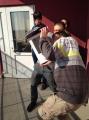 Фотофакт: Минчане наблюдали солнечное затмение через микроволновку