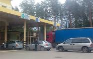 Транспортный коллапс на белорусско-литовской границе