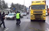 В Минске около Военной академии фура сбила курсанта