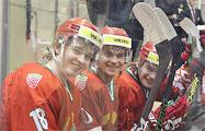 Беларусь победила Францию на турнире в Латвии
