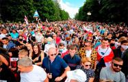 «Огонь в глазах белорусов уже не остановить»