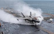 Появилось невероятное видео взлета истребителя F-35B с десантного корабля