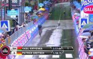 Белорусский гонщик выиграл этап веломногодневки «Джиро д'Италия»