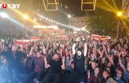 Концерт NIZKIZ в Минске закончился громогласным «Жыве Беларусь!»