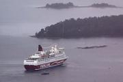 Финский паром сняли с мели в Балтийском море