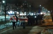 Новополоцк вышел на мощный вечерний марш