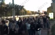 «Мы спасем Беларусь!»: Брест идет маршем