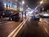 Массовое ДТП на Независимости: столкнулись 4 автомобиля