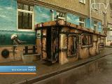 Граффитисты «утопили» дом в Минске