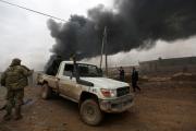 Под Дейр-эз-Зором в Сирии уничтожили 50 джихадмобилей