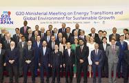 Министры энергетики G20 договорились о действиях для стабилизации рынка нефти