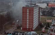В Минске горело общежитие
