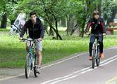 Минчан пересаживают на велосипеды