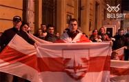 Белорусы Санкт-Петербурга поддержали бастующих студентов и рабочих