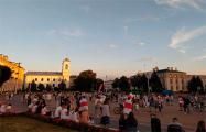 Брестчане вышли на массовую протестную акцию