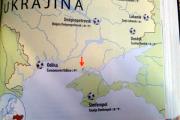 Путаница в эпохах привела к созданию чешской карты с российским Крымом