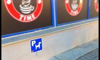 Гомельское кафе открыло «парковку» для собак