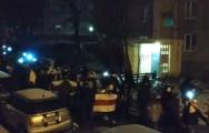 Жители Запада вышли на громкий вечерний марш