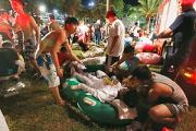 Число пострадавших в аквапарке на Тайване превысило 200 человек