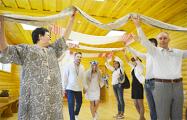 В Слуцке прошла уникальная свадьба в белорусском стиле