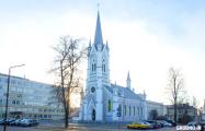 Лютеранин из Германии восстановит старые часы на кирхе в Гродно