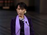 Бирманка прочла Нобелевскую лекцию с опозданием в 21 год