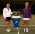 Белоруска Ольга Говорцова вышла в полуфинал парного разряда теннисного турнира в Страсбурге