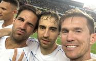Глеб встретился с бывшими партнерами по «Арсеналу»