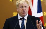 Борис Джонсон: Мы были сосредоточены на темпах и эффективности операции в Сирии