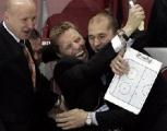 Василий Спиридонов назван лучшим тренером хоккейного сезона-2011/12 в Беларуси