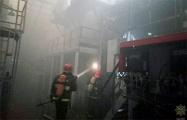 На МТЗ произошел пожар
