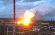 В Подмосковье горит и взрывается авиазавод «Рубин»