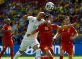 Бельгия одержала волевую победу над сборной Алжира