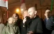 Евгений Афнагель возле здания ЦИК: Свободные выборы пройдут после ухода Лукашенко