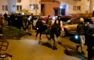 В Уручье минчане устроили вечерние шествие
