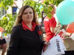 Первомай в Бресте отметили под бело-красно-белыми флагами