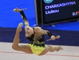 Любовь Черкашина заняла 4-е место в многоборье на чемпионате Европы по художественной гимнастике