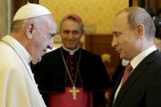 Католические СМИ сообщили о часовом опоздании Путина на встречу с Папой Римским