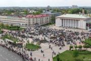 Сотни байкеров перекрыли центр Гродно