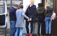 Участников акции возле Минобороны в Минске оштрафовали