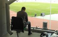 Фотофакт: Как инженеры «исправили» систему водостоков на стадионе «Динамо»