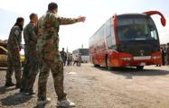В Думе обстреляли автобус с российскими журналистами